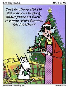 Maxine on Christmas